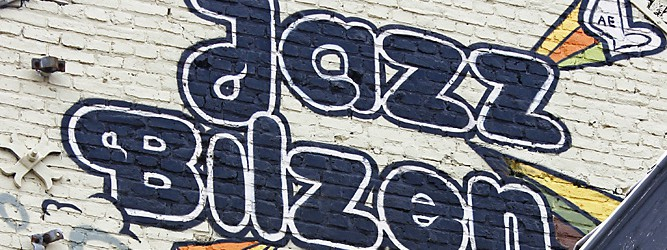 Jazz Bilzen grafitti
